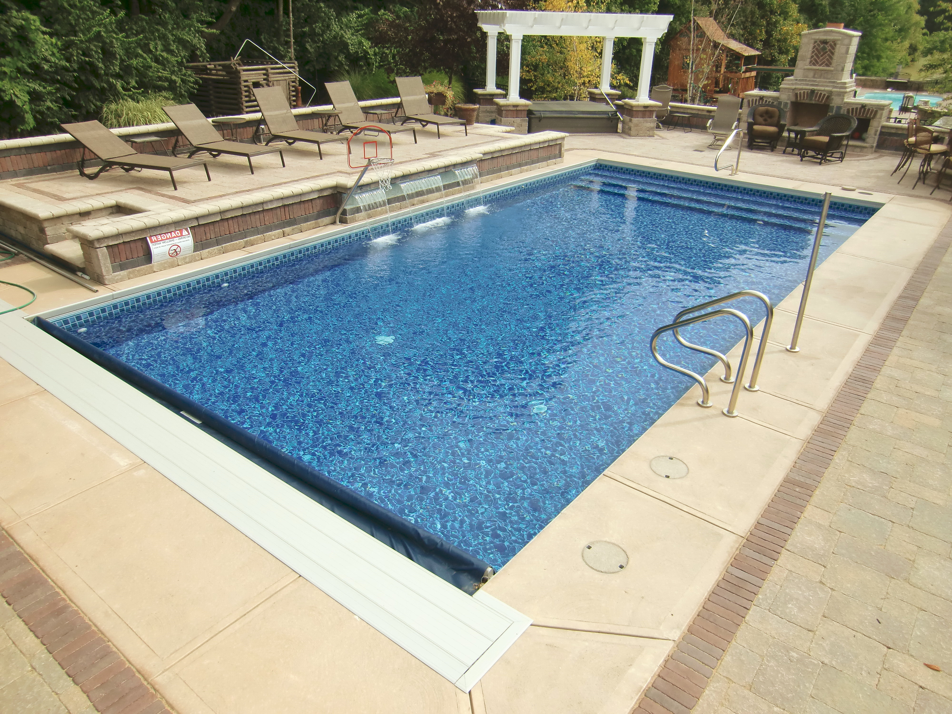 Vinyl Liner Pool Designs this swimming pool is a computer generated design from latham pool products this liners Vinyl Liner Pools In Central Indiana Top 6 Reasons To Buy