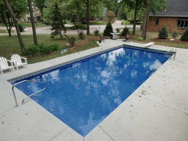 Rectangle Vinyl Liner Indianapolis