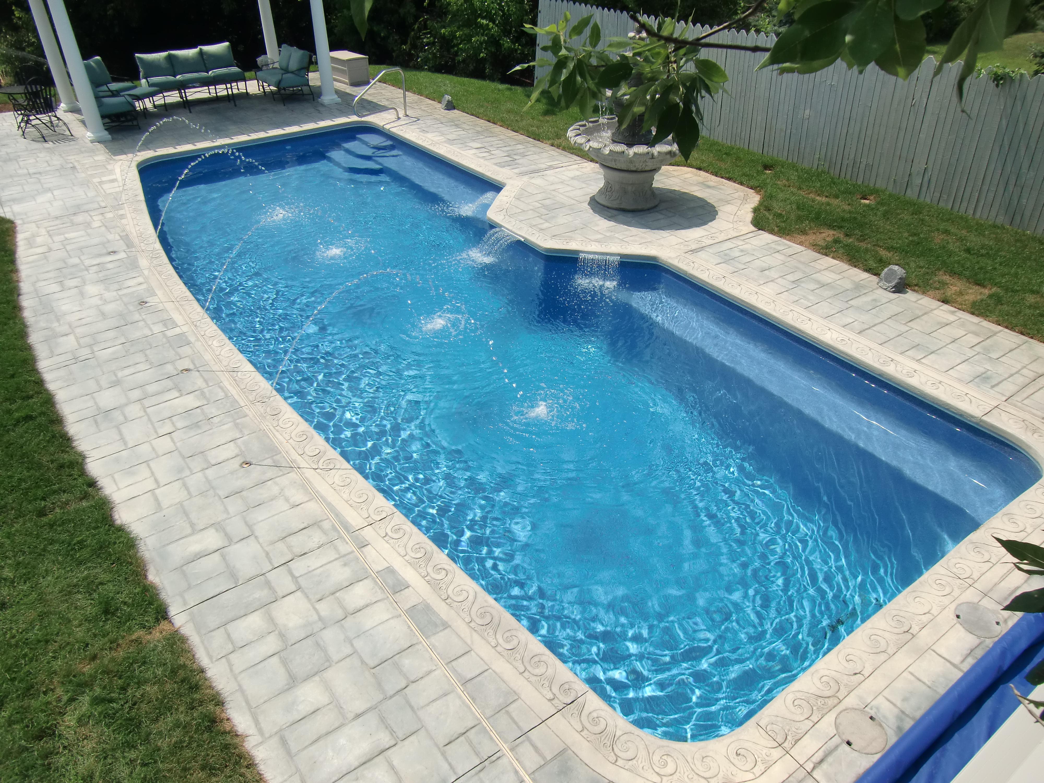 indiana fiberglass pool