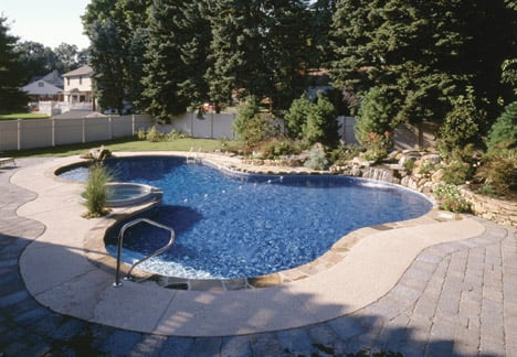 Free form Vinyl Liner Pool Indianapolis