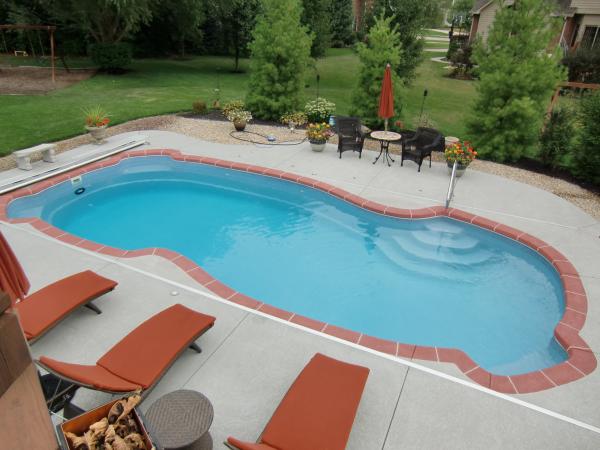 indianapolis inground pool deck