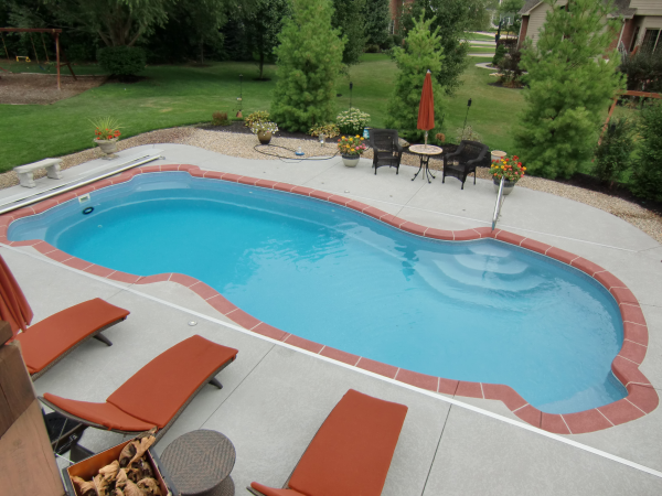 What Borders Are Available for Your In Ground Pool?  Costs?