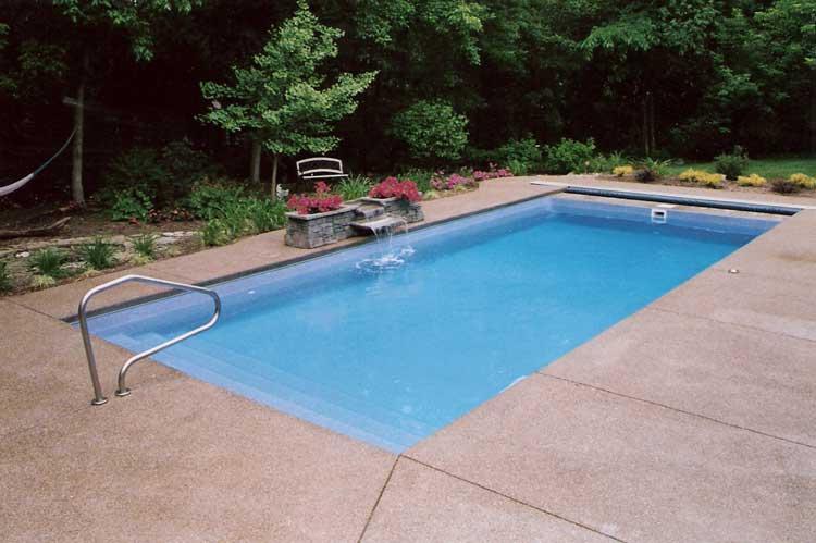 Lake Shore Pool Under Track Indianapolis