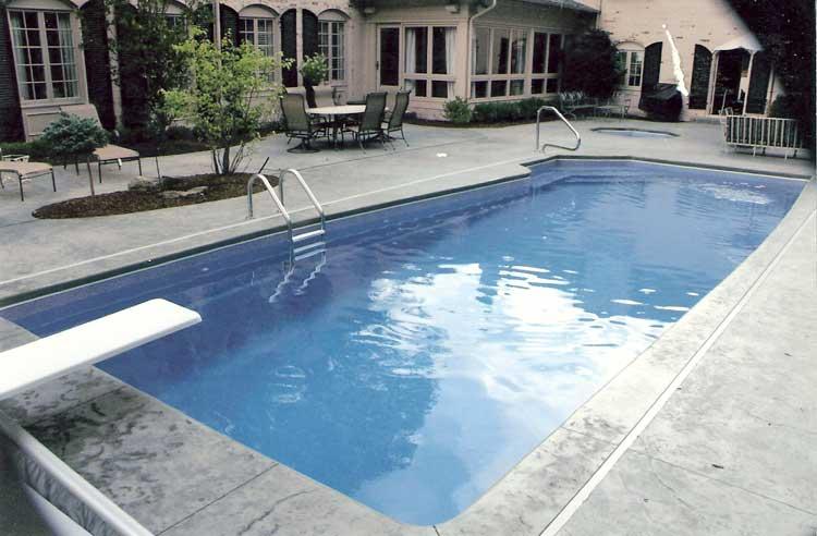 Rio Pool Flush Track Indianapolis