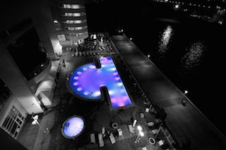 multi color pool lights