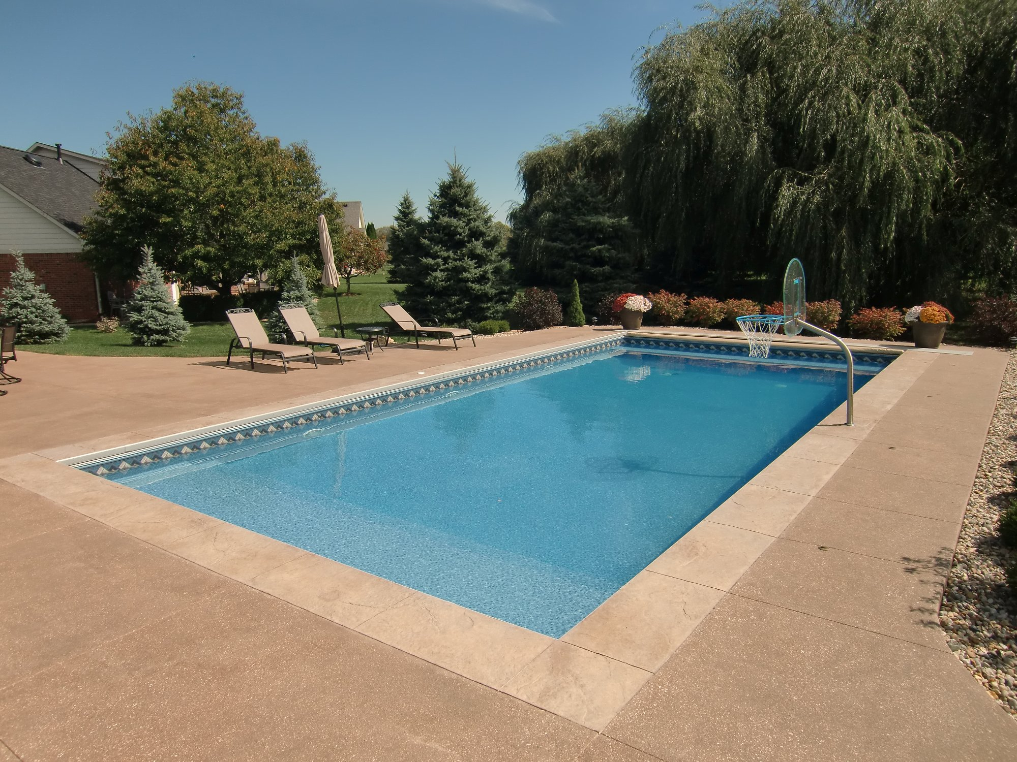 Covers heaters and concrete for Pool design basics