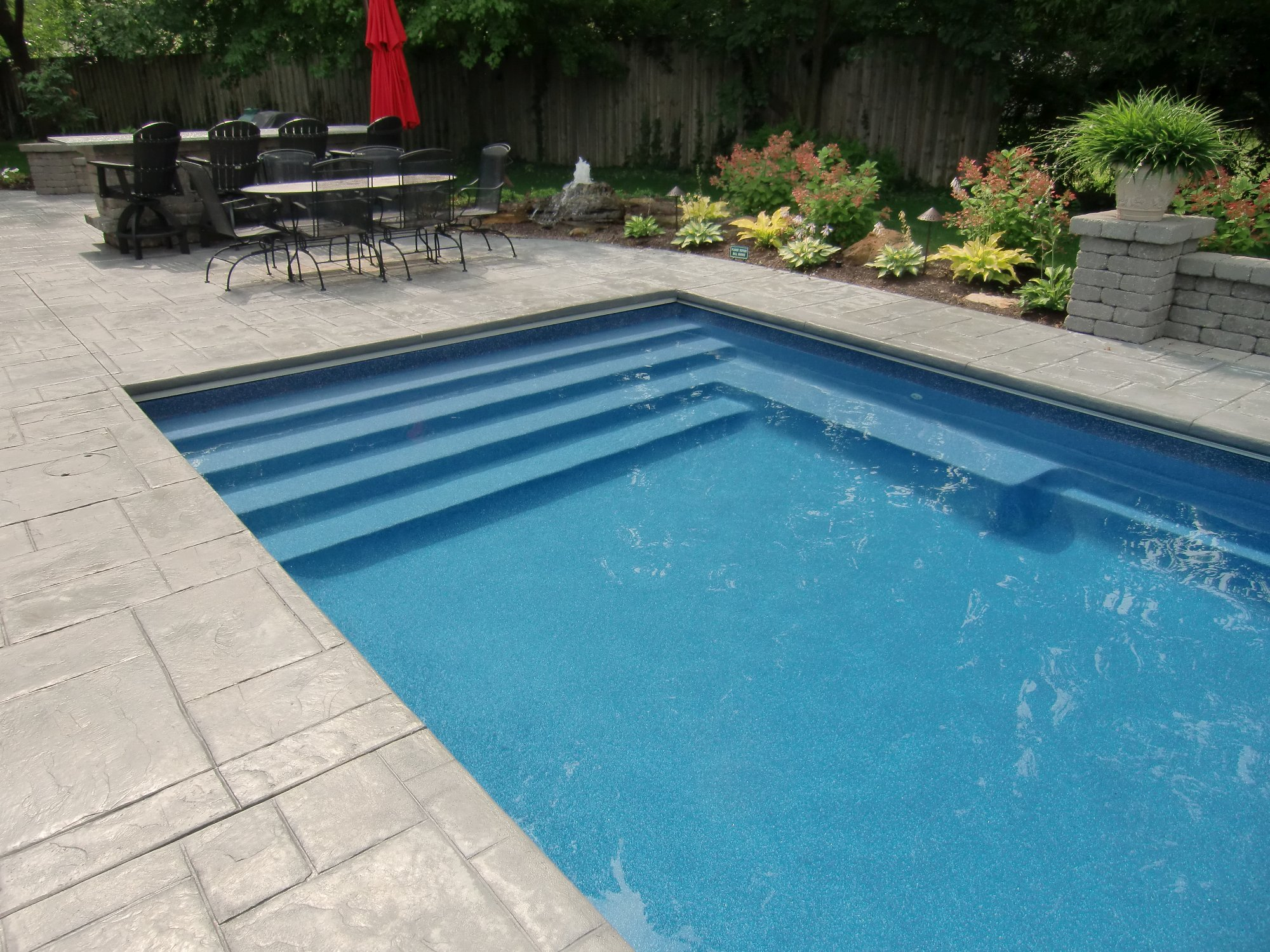 Clarmont Pool Under Track Cover Indianapolis