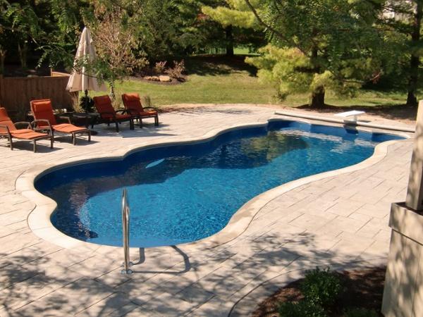 Venice Pool Flush Track Cover Indianapolis